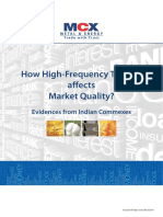 How h Ft Affects Market Quality