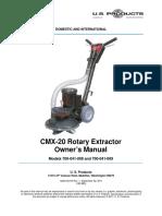 CMX 20 Manual