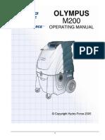 Hydroforce Olympus M200 Manual