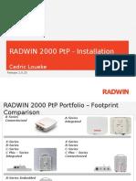 RW2000 PtP Installation Release 2.8.20