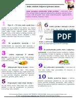 10 savjeta – kako održati željenu tjelesnu masu