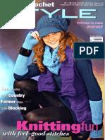 Austerman Knit and Crochet Style Magazine - No 7