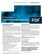 Information Outsourcing Services Overview