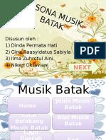 Pesona Musik Batak