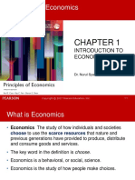Chapter 1-Introduction to Economics
