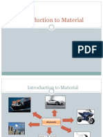 Chap 1 Introduction to Material