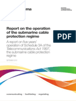 Acma Submarine Cables Report