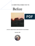 Peace Corps Belize Welcome Book  |  September 2009