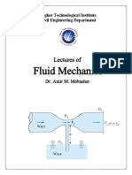 Lectures of Fluid Mechanics