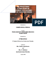 Project Report on Air Pollution