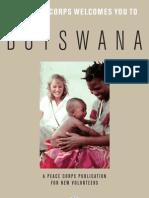 Peace Corps Botswana Welcome Book  |  January 2008