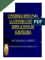 Diseño Sismico de Edificaciones de Albañileria - Parte 6