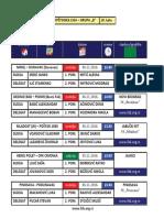 medjuopstinska liga - grupa b - delegiranje - 10  kolo 0