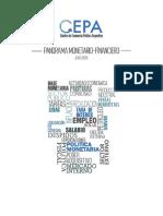 Panorama Monetario Financiero CEPA Julio2016