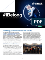 IBelong Campaign Update - October 2016
