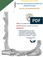 Etica Administrativa