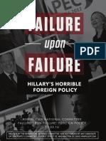 Failure Upon Failure