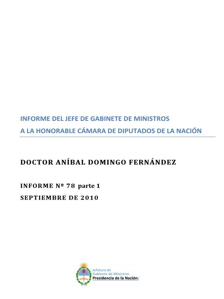 Informe Nº78 - Parte 1