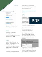 Pasos Para Crear Una Cuenta en Outlook