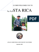 Peace Corps Costa Rica Welcome Book  |  September 2009