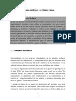 Analisis Articulo 145 Del Código Penal