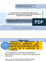 Presentacion Expo de Variables Maestria