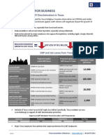 Economic Impact Statement on Anti-LGBT Legislation (Texas Association of Business)