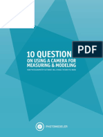 10 Photogrammetry Common Questions