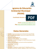 Presentacion Peam 2014 Actualizado Junio 14