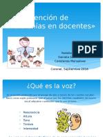 Prevención de Disfonía en Docentes» (1)