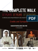 The Complete Walk Credits Synposes