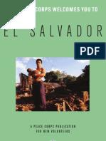 Peace Corps El Salvador Welcome Book  |  July 2007
