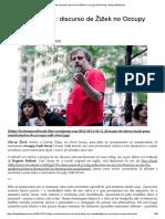 A Tinta Vermelha_ Discurso de Žižek No Occupy Wall Street