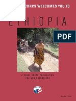 Peace Corps Ethiopia Welcome Book     October 2009