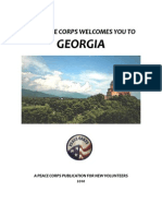 Peace Corps Georgia Welcome Book  |  2010