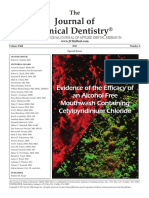 JournalofClinicalDentistry Effectiveness of an Alcohol Free CPC Mouthwash