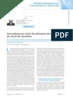 Revue Lamy droit civil_novembre 2016_recel de donation.pdf