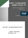 Cloud Tv Ppt