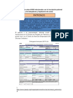 Procedimiento Ante El IGSS Relacionados Con La Inscripción Patronal y de Trabajadores y Liquidación de Cuotas