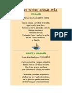 Poemas Sobre Andalucía