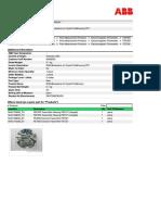 Backplane PCB for FEP 300 EM Flwmeter