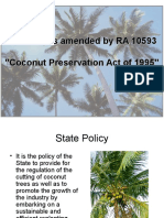 Coconut Preservation Act
