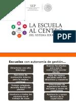 Marco Legal Escuela Al Centro