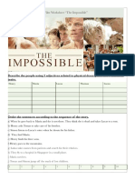 """The Impossible""- worksheet"