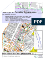 G-eaux Doc Presentation SIG