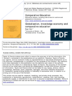 2007 Dale Globalisation, Knowledge Economy and Comparative Education