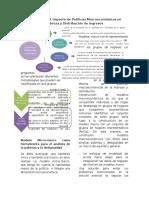 Evaluación de Impacto de Políticas Macroeconómicas.
