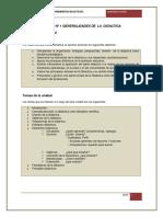 Generalidades de La Didactica