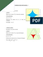 Ejercicios de Nivel 1 y 2 Algoritmos