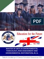 Master Environmental Toxicology